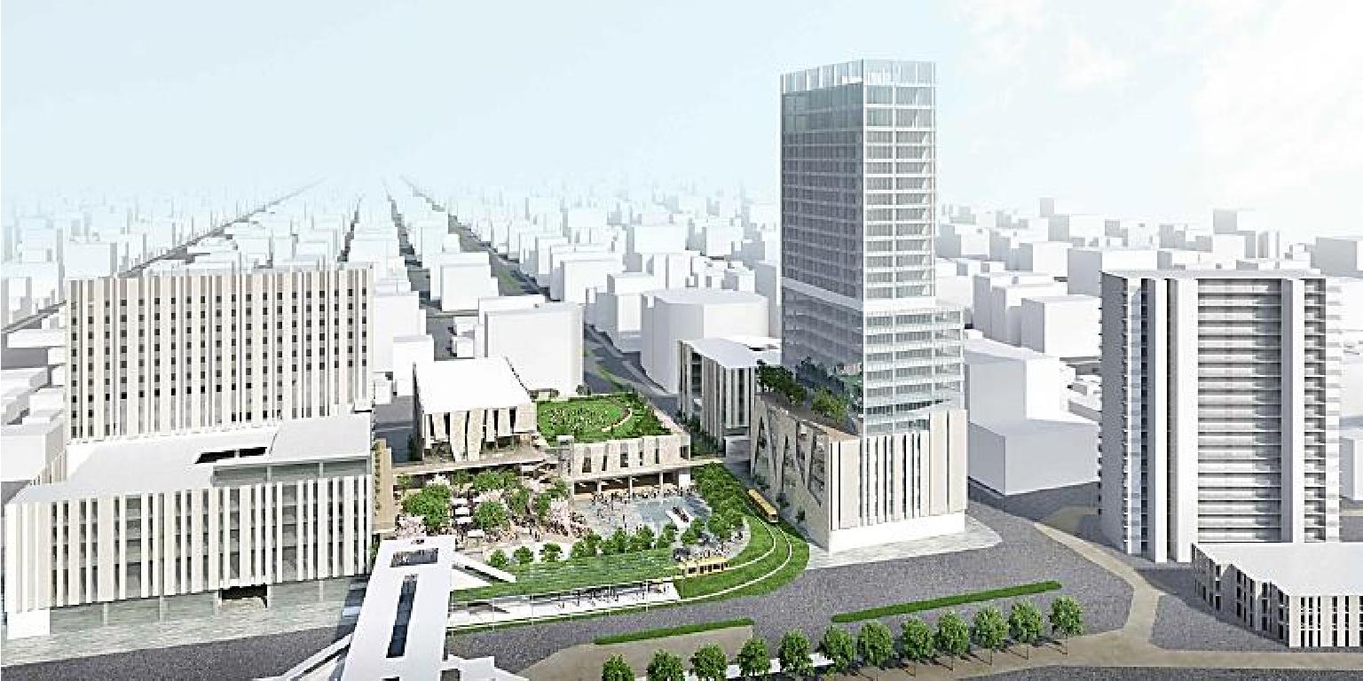 宇都宮駅東口地区整備事業(再開発事業)で『うつのみや』を世界都市にするまちづくりに