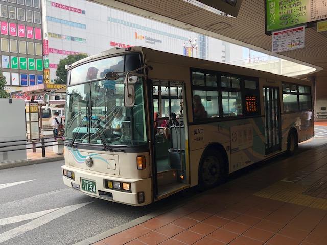 宇都宮駅発着の路線バスの行き先