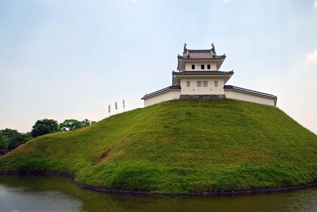 関東七名城の一つ宇都宮城址公園で宇都宮の歴史に触れる