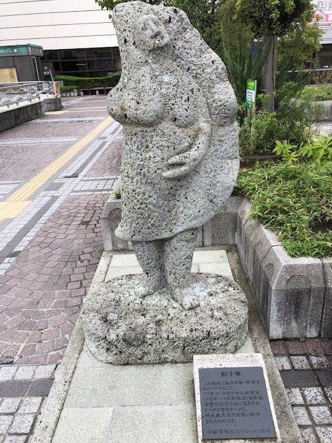 ビーナス『餃子像』誕生秘話と惨劇の歴史【宇都宮駅の観光スポット】